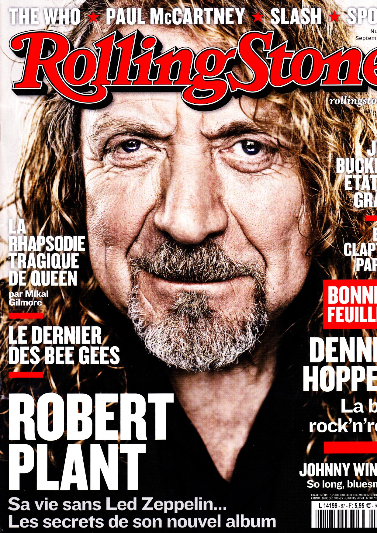 Rolling Stone #67, septembre 2014