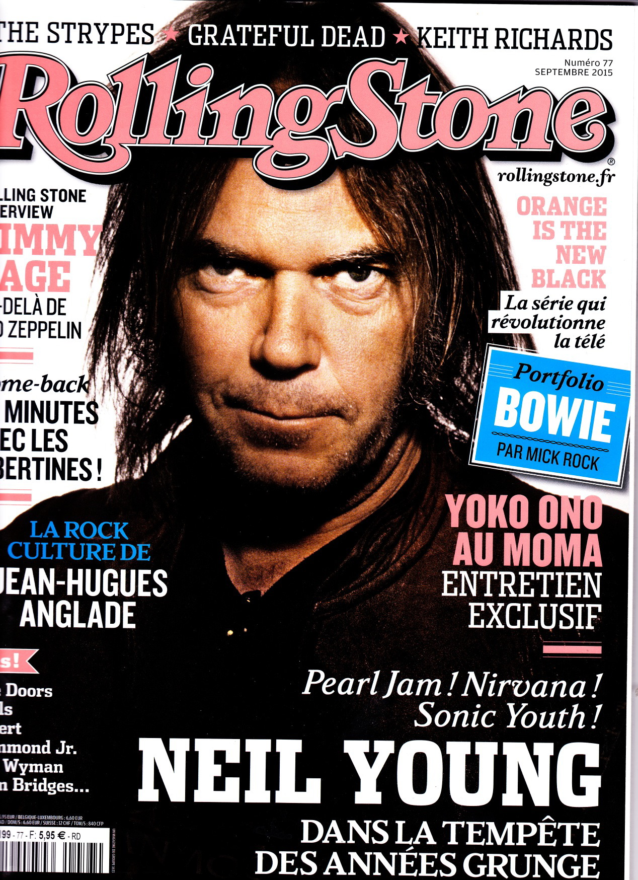 Rolling Stone, #77, septembre 2015